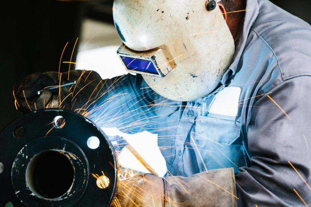 Working Welder workers comp insurance
